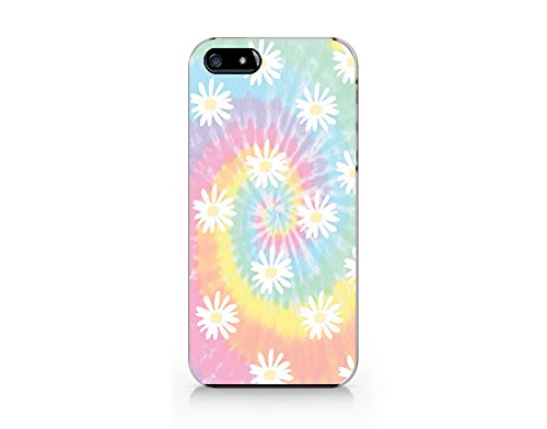 Price comparison product image Tie Dye Daisy iphone 5 Case,  iphone 5S Case Plastic Hard Case Unique Design-Quindyshop (NAM34)