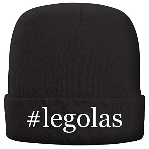 BH Cool Designs #Legolas - Adult Hashtag Comfortable Fleece Lined Beanie, Black