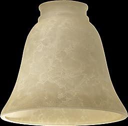 Quorum 2812E, Cream Mottled Scavo Glass