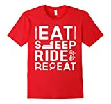 Eat Sleep Ride Repeat T-Shirt | Gift Shirt For Bicycle Rider