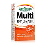 Jamieson 100% Complete Multivitamin Max Strength