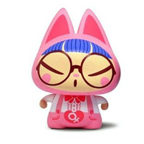 [MANCAT Woman Glasses Couple Antenna Ball Silicon Antenna MANCAT Woman Glasses Couple 1Piece Character / Car Antenna Accessory / Home Accessories / Car Tuning / Car / Motorcycle / Passenger Car /] (Female Tv Characters Costumes)