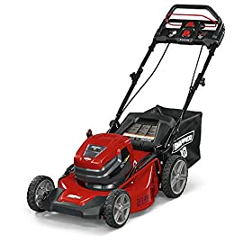 Snapper 1687982 XD 82V Max 21-Inch StepSense™ Electric Cordless Kit Battery Lawn Mower 88 StepSense Automatic Drive System - Intelligently adjusts to your mowing speed for easy operating pace Dual-battery power head - houses two batteries to provide additional run time of up to 60 minutes** Intelligent load sensing technology - allows for optimum power levels while you mow for maximum efficiency