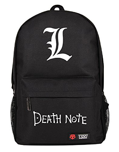 Siawasey Death Note Anime Light Yagami Cosplay Luminous Messenger Bag Backpack School Bag(6 Patterns)