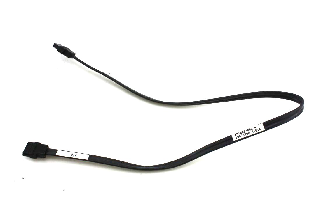 Black S-ATA New Workstation etc HP 19inch 7-pin Serial ATA 381868-002 Hard Drive to System Board Cable