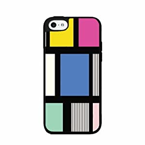 Cool 90s Mix Pattern TPU RUBBER SILICONE Phone Case Back Cover iPhone 5 5s