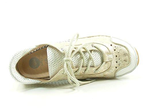 Vagues Douces 4-69-57 Chaussures Femmes À Faible Chaussures En Dentelle Beige