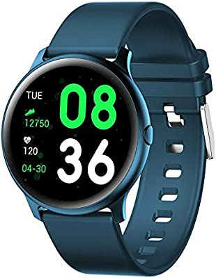 Amazon.com: KW19 - Reloj inteligente unisex con Bluetooth ...