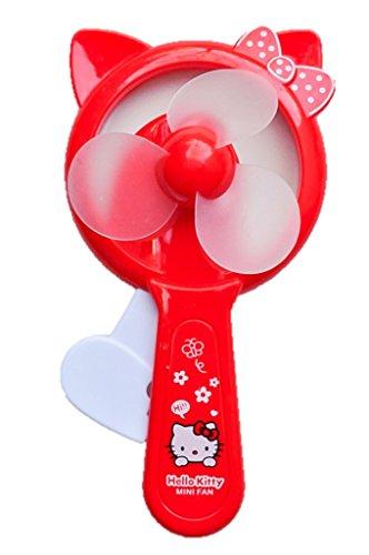 Red Hello Kitty Personal Toy Fan (Hello Kitty Fan)
