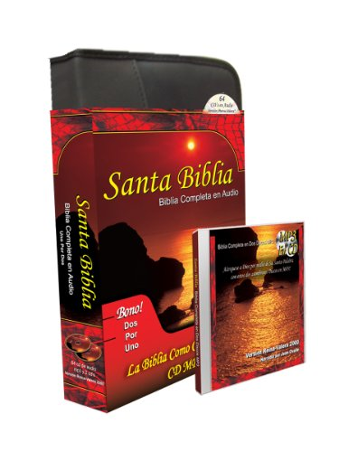 Santa Biblia Complete Reina Valera en 64 Audio CD Plus una Reina Valera 2000 Completa-Completa en MP3 Discs-Two Complete Biblias Español Reina Valera ... para cada disco (Spanish Edition) by Brand: Cassette Communications Inc