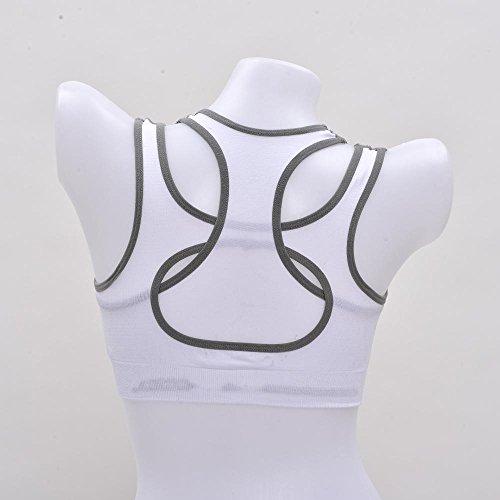 Yoga A Daeou Femenina Bra Chaleco Ropa Interior Choques F Prueba Sujetador Funcionamiento Deportivo Deportes De q11YOE