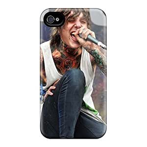 New Cute Funny Bring Me The Horizon Band Bmth Case Cover/ Iphone 4/4s Case Cover