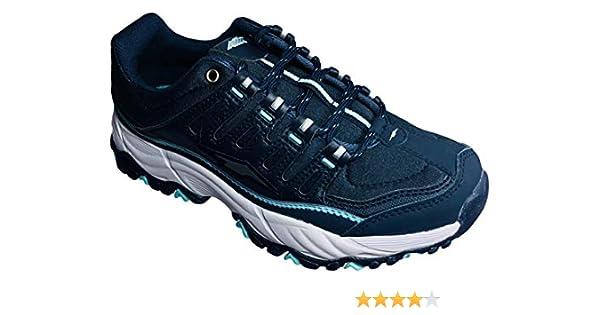 Avia Elevate Performance Zapato atlético, Ancho Amplio con Plantilla de Espuma viscoelástica para Mujer, Azul (Marino), 37 EU: Amazon.es: Zapatos y complementos