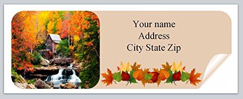 urn Address Labels Fall Autumn (ac 972) ()