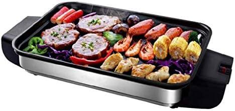 XXDTG 無煙バーベキュー料理、ノンスティックパンケーキグリドル、特大表面をコーティングされたインドアグリル
