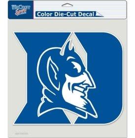 Duke Blue Devils Window - Duke Blue Devils Die-Cut Decal - 8''x8'' Color