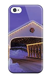 ClaudiaDay Perfect Tpu Case For Iphone 4/4s/ Anti-scratch Protector Case (holiday Christmas)