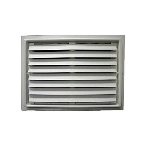 FEMA Compliant Engineered Flood Vent - White (12''x32'') by Crawl Space Door Systems