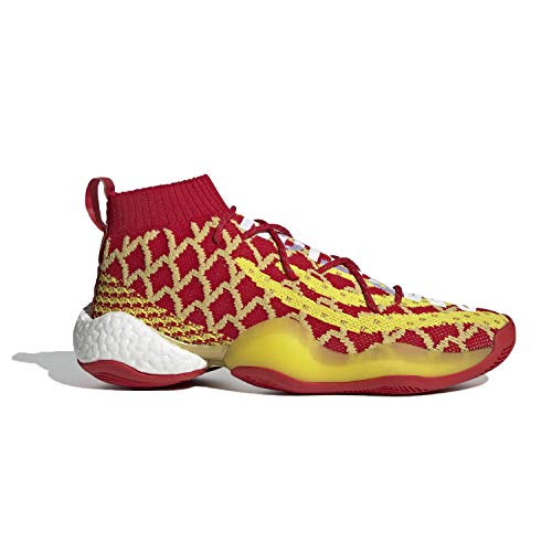 adidas Mens PW X BYW CNY Pharrell Chinese New Year Red/Yellow Fabric Size 11.5