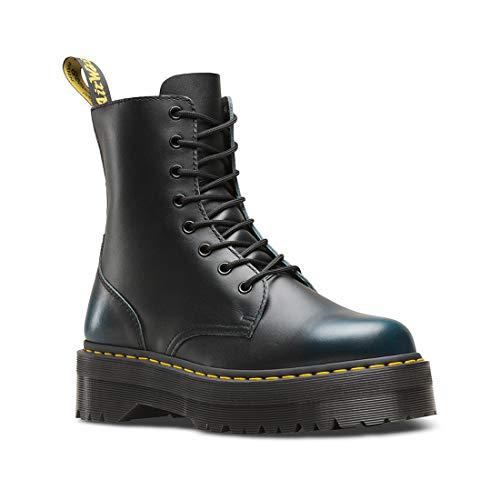 Dr. Martens Mens Jadon 8-Eyelet Leather Boots Blue