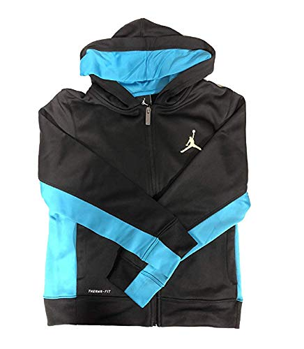 Nike Jordan Boys' Therma-FIT Fleece Full Zip Jacket (M)
