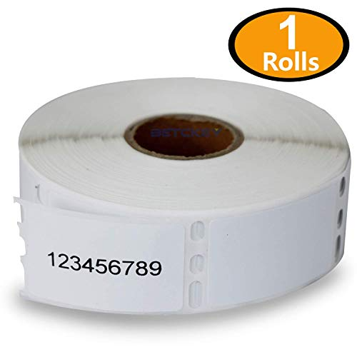 1 Rolls DYMO 30347 Compatible 1 x 1-1/2(25mm x 38mm) Book Spine Labels,Compatible With Dymo 450, 450 Turbo, 4XL And Many More