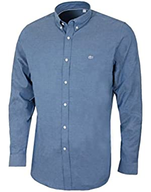 Lacoste Men's Blue Men's Shirt in Size XL-2XL Blue