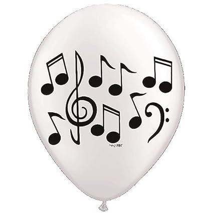 amazon com music note latex balloons 10 balloons 11 each