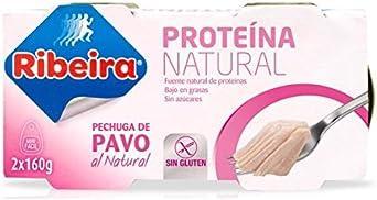 Ribeira Pechuga de Pavo al Natural 2x160g: Amazon.es ...