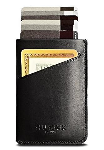 Slim RFID Wallets for Men Leather - Front Pocket Card