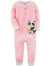 Little Girls 1-Piece Snug Fit Cotton Footless Pajamas