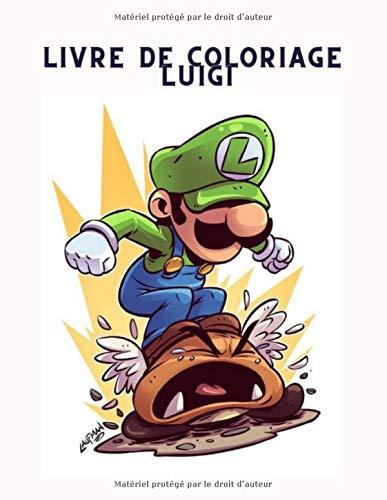 Livre De Coloriage Luigi Coloriage Mario 2020 2021 Pour Tout Age Coloriage Mario Edition 9798691179396 Books Amazon Ca