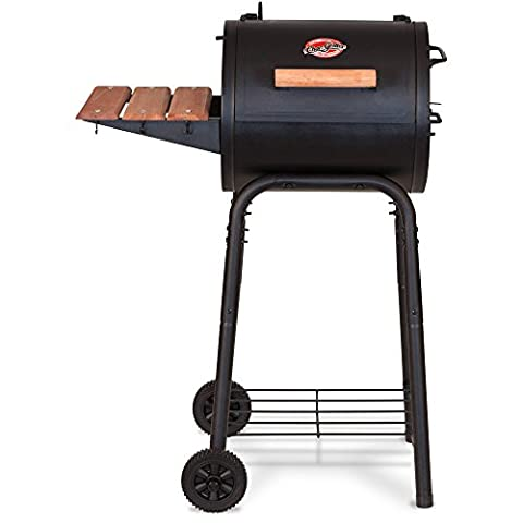 Char-Griller 250sq Cast Iron Cooking Grates Patio Outdoor Charcoal Grill (Char Grill 3001)