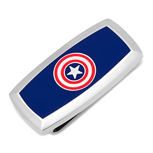 Marvel Captain America Money Clip, Officially Licensed from Cufflinks Inc.