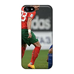 Top Quality Protection The Halfback Of Moscow Lokomotiv Vitaliy Denisov Case Cover For Iphone 5/5s