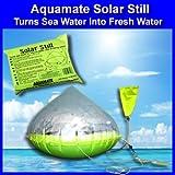 Aquamate Solar Still Emergency Water Purification Inflatable Kit