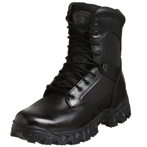 Rocky Duty Men's Alpha Force 8'' Swat Boot,Black,11.5 M by Rocky