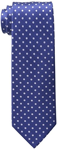 Tommy Hilfiger Men's Dot Print Tie, Royal, One Size