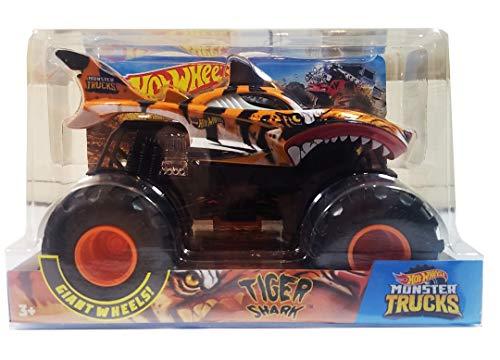 Hot Wheels Monster Trucks Shark Wreak Tiger Shark Vehicle