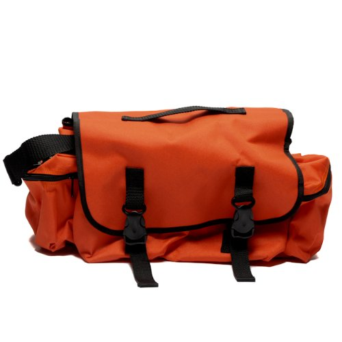 Medical Bag Nylon Orange Empty