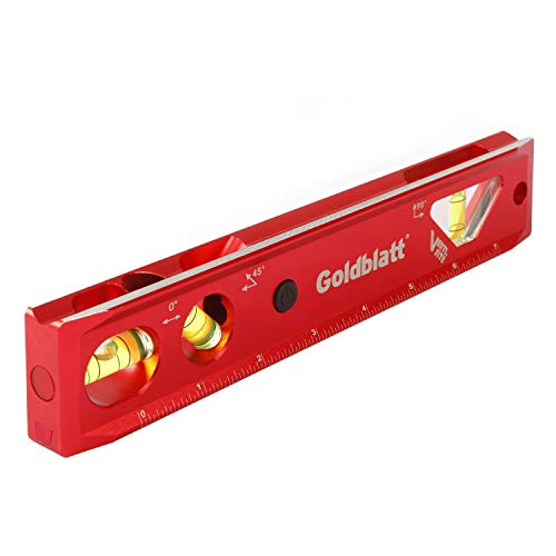 (Goldblatt Lighted 9in. Aluminum Verti. Site Torpedo Level)