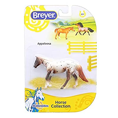 Breyer 1:32 Stablemates Model Horse: Appaloosa: Toys & Games