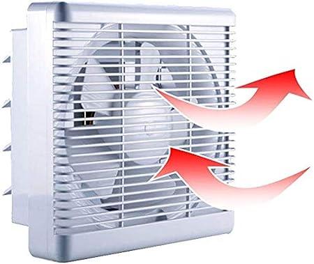 800m³/h 680m³/h Extractor de Baño Ventiladores de Baño Ventilación Reversible de 2 Vías con Persiana Interruptor de Cable Gran Flujo de Aire para Pared Ventana Cocina Garaje Tienda Inodoro 10