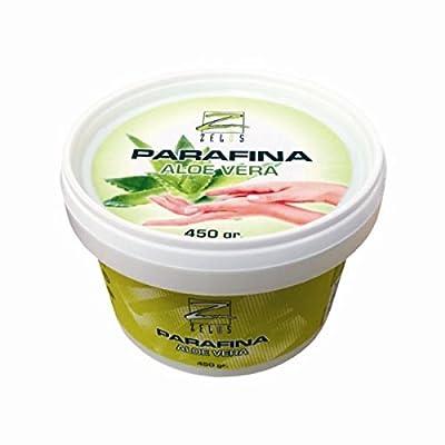 Parafina Aloe Vera - 450 gr - Tratamiento de Máxima Hidratación en Capas Profundas de la Piel - Baño de Manos y Pies - Manicura y Pedicura - Zelos