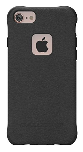 elect Slim Series Case for Apple iPhone 8 Plus, iPhone 7 Plus, iPhone 6s Plus, and iPhone 6 Plus (Black, Buffalo Leather) ()