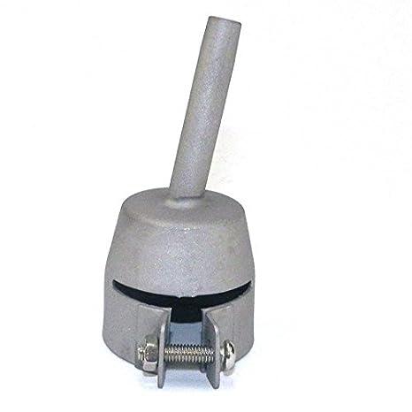 yunshuo lápiz punta piso boquilla de soldadura para aire caliente Soldador de vinilo Leister plástico: Amazon.es: Coche y moto