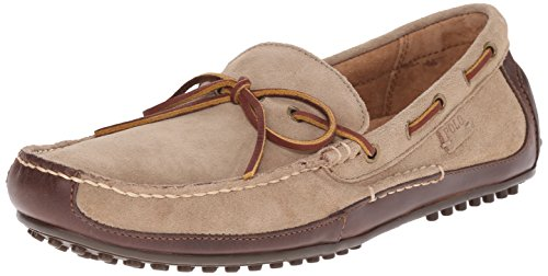 Slip Lauren On Wyndings Milkshake Ralph Loafer Tan Polo Leather Men's 6wvXqS