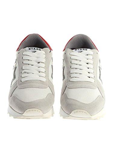 Nicekicks Precio Barato Costo Precio Barato Atlantic Stars Sneakers Uomo ARGOBCNYLBBNY Pelle Bianco 2csGtZgrj