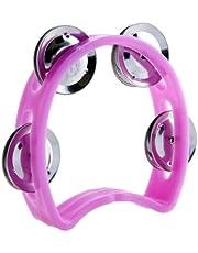 D'Luca TW-4PK 4-Inch Child's Tambourine, Pink