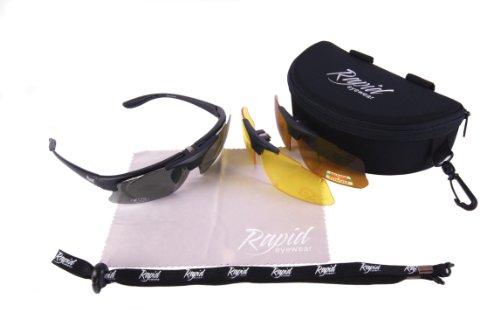 intercambiables CLIP Rapid RX para para mujer y UV400 los PESCA correctoras Eyewear Negro hombre GAFAS OPTICO Lentes DE SOL Para ojos pescador POLARIZADAS lentes Gafas graduadas de DE wzqwP8pr